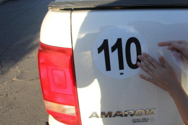 Adesivo 110 km