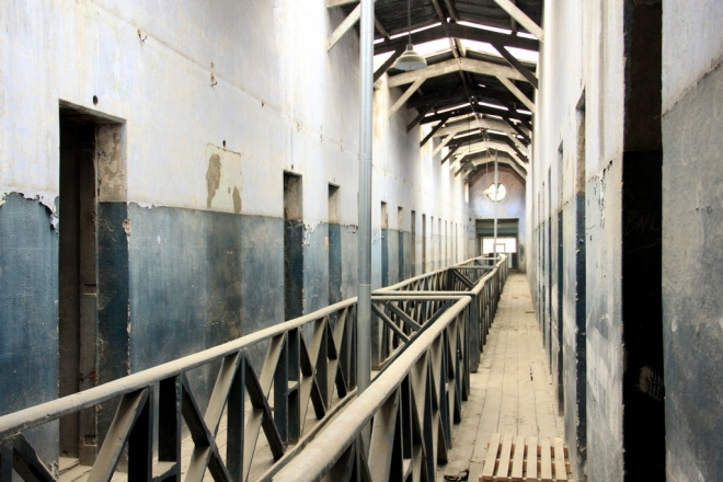Celas do Presídio Militar de Ushuaia